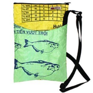 Recycled Day Bag kiwi yellow