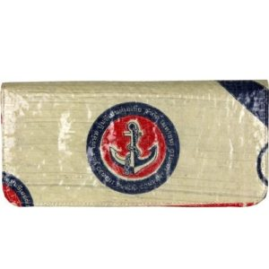 Recycled Cement Anchor Long Wallet