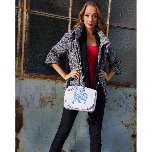 Cement Small Messenger blue dragon lifestyle