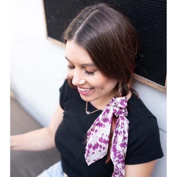 Silk Scrunchies Tie Dye Prints