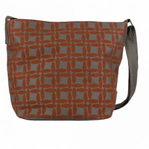 burnt orange handbag