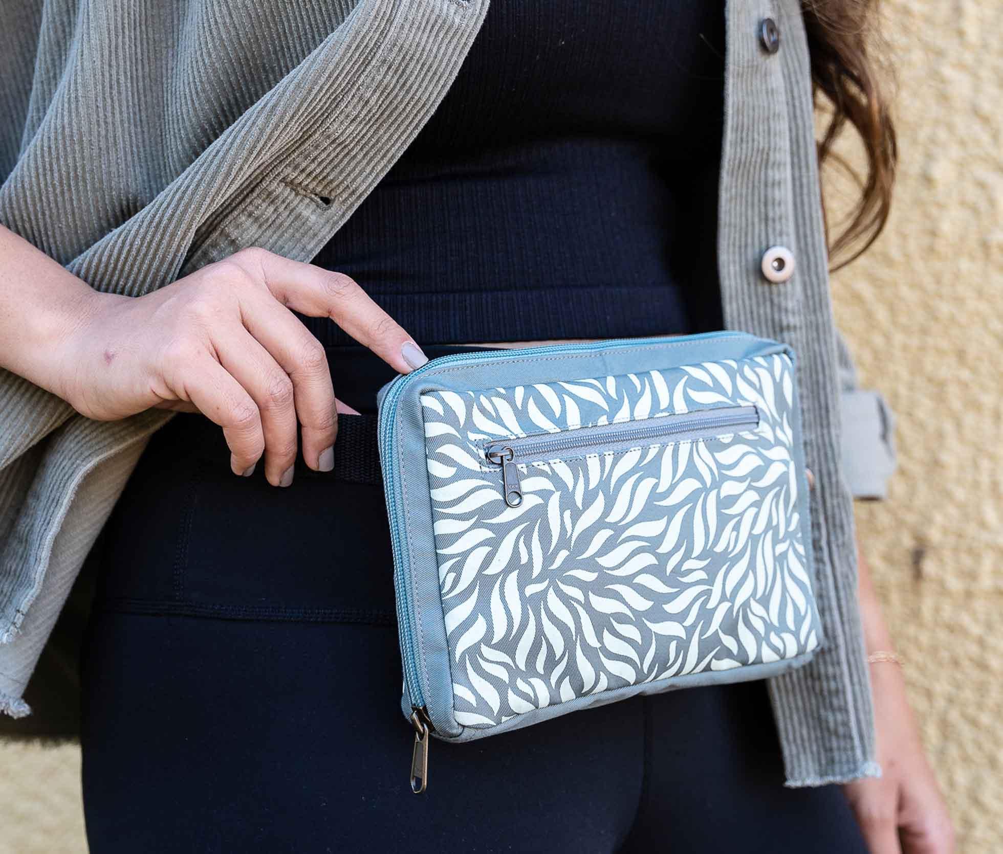 small fair trade belt bag