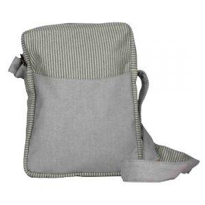 light grey denim crossbody bag