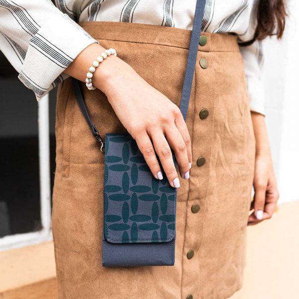 dark teal phone cases wallet