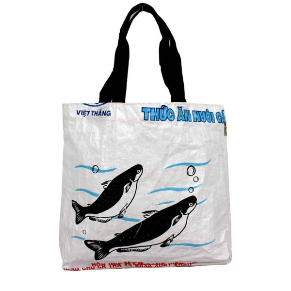 Recycled Shopping Tote white