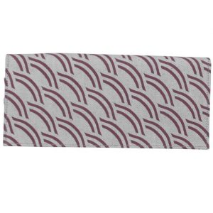 light grey cotton wallet