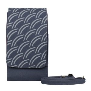 dark grey phone case wallet