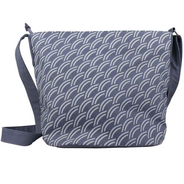 dark grey fair trade bucket bag