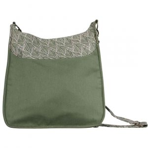large sustainable green handbag