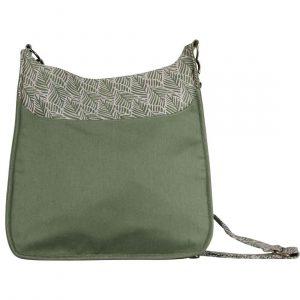 large sustainable green handbag