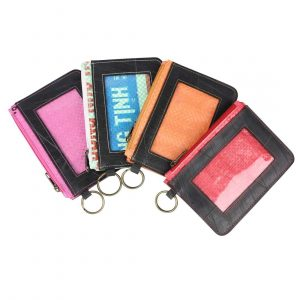 Recycled Tire ID Holders group