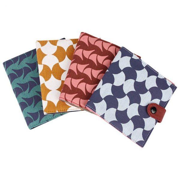Cotton Wallet Geometric Prints geo group