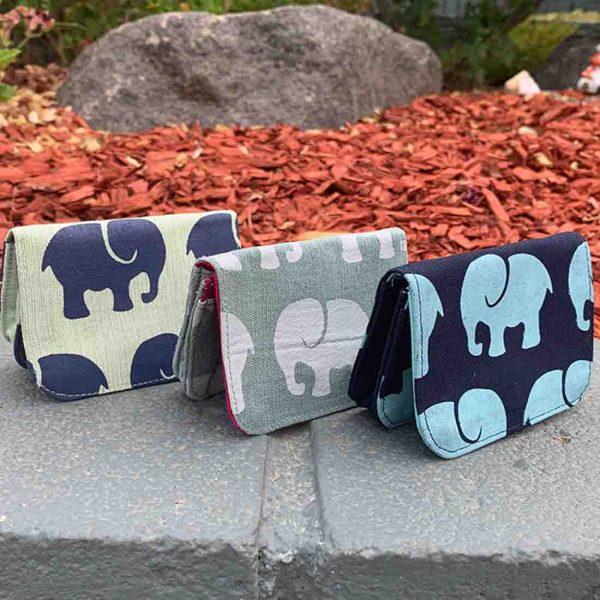 elephant card holders
